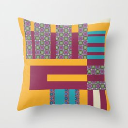 Almost Square Throw Pillow