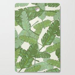 Banana Leaf Print Cutting Board