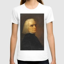 Franz Liszt (1811-1886) by Carl Ehrenberg in 1868 T-shirt