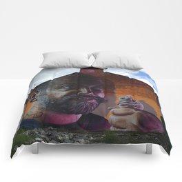 Ice Cream Man Comforters
