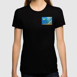 Cliffs of Moher: Crescent Moon T-shirt