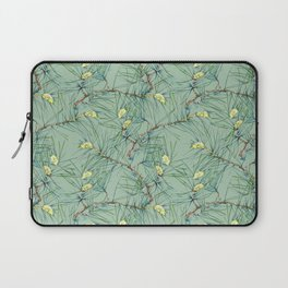Pattern of pine branches and needles Laptop Sleeve
