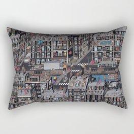 Parisian Neighbourhood Rectangular Pillow
