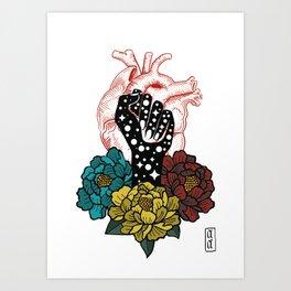 Lucha Art Print