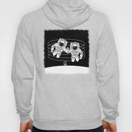 Astronaut black and white Gemini Hoody