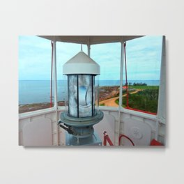 Point Prim Lighthouse View Metal Print