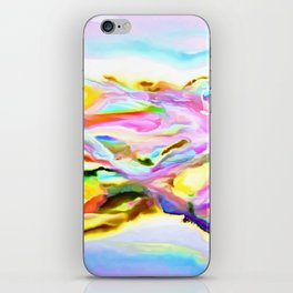 Coastal Color Abstract iPhone Skin