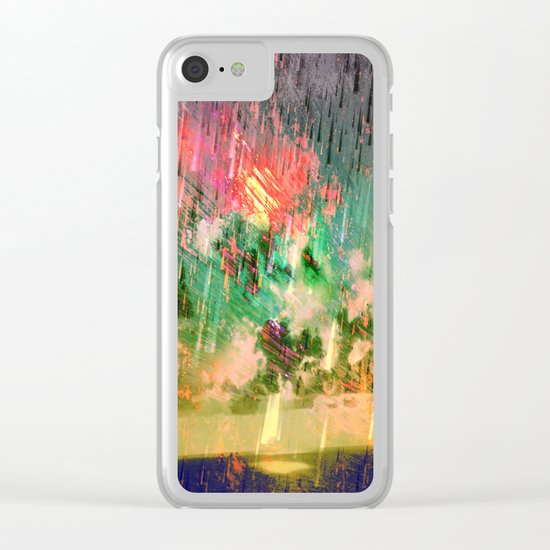Storm / Autumn 27-10-16 Clear iPhone Case