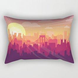 Brooklyn Sunset Rectangular Pillow