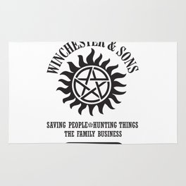 SUPERNATURAL WINCHESTER AND SONS Rug