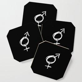 Symbol of Transgender IX Coaster