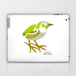 Rock Wren New Zealand Bird Laptop & iPad Skin