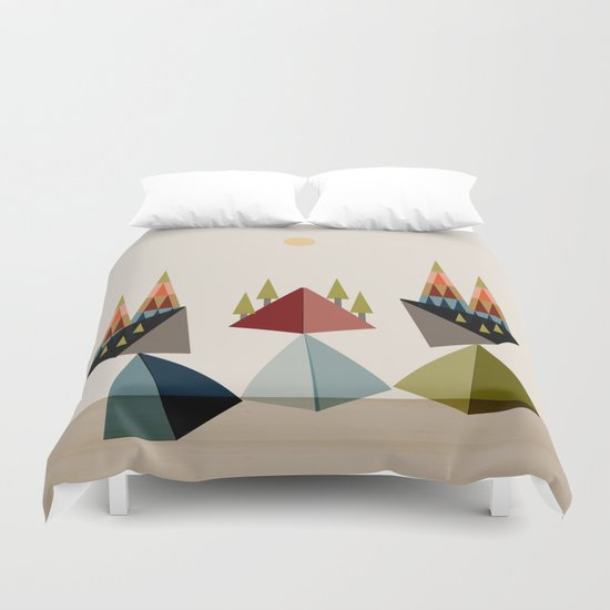 Rocky Path Duvet Cover