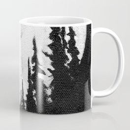 Full Moon & Trees Coffee Mug