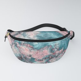 Crystal Marble Fanny Pack