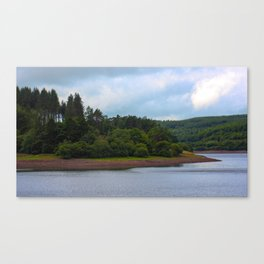 Usk Reservoir 2 Canvas Print