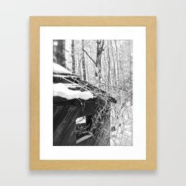 Taken Over Framed Art Print