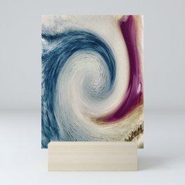 Kicking The Wave Mini Art Print