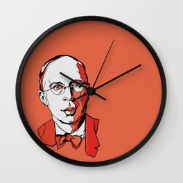 Sergei Prokovief by Arty Margit Wall Clock