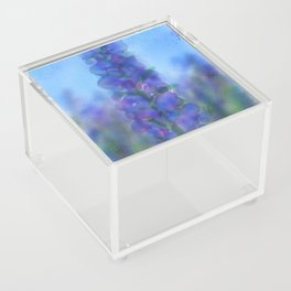 Blue Fire Acrylic Box