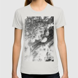Marble Flow - Black & Cream T-shirt