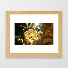 Cubism: Gold rush Framed Art Print