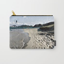 Kite over the beach Carry-All Pouch