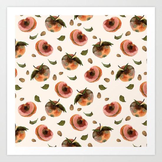 moldy peaches Art Print