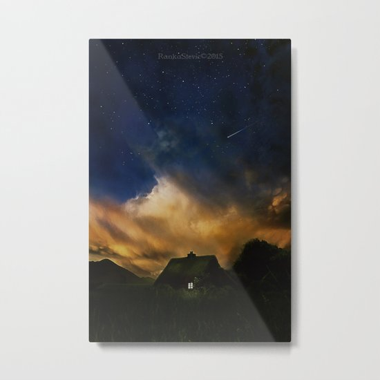 Home under the stars Metal Print