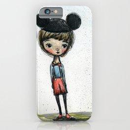 The Happy Boy iPhone Case