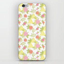 Garden of Power, Wisdom, and Courage Pattern iPhone Skin