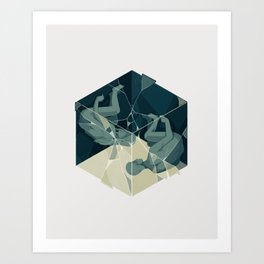 Cube 04 Art Print