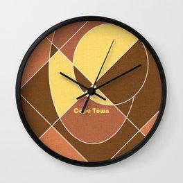 Cape Town Mosaic Wall Clock