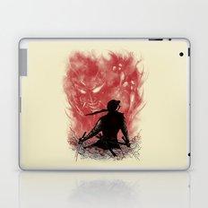 Ronin Versus Oni Laptop & iPad Skin