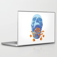 psychology Laptop & iPad Skins featuring Reverse Psychology  by Rhysher Park