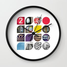 Cold Comfort Collage — The Streets Wall Clock