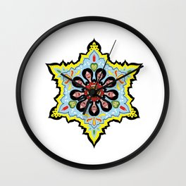 Alright linda belcher mandala kaleidoscope Wall Clock