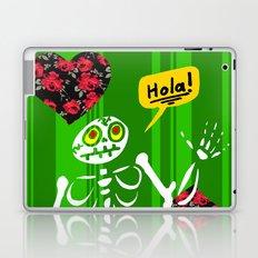 Hello Skeleton Laptop & iPad Skin