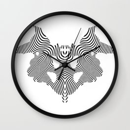 Stain of Rorschach Wall Clock