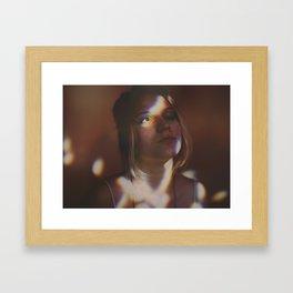 Exhale Light Framed Art Print