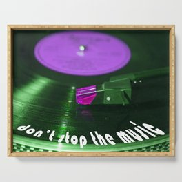 Don't stop the music Serving Tray
