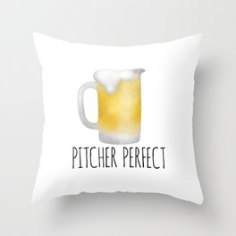 Pitcher Perfect Throw Pillow