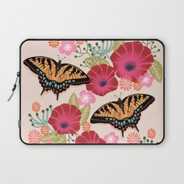 Swallowtail Florals by Andrea Lauren  Laptop Sleeve