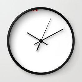 Funny Twin The Unplanned Twin Wall Clock