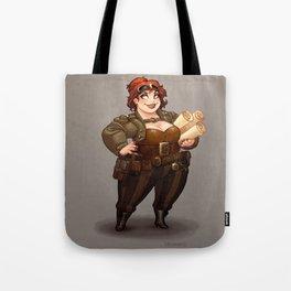 Lady Calpurnia Oxboxer Tote Bag