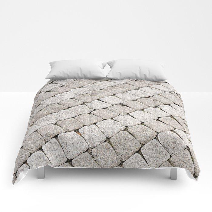 Pattern stone pavement Comforters