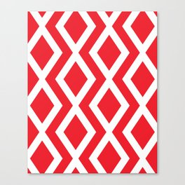 Red Diamond Canvas Print