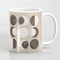 moon phases Mugs featuring Moon Phases by cegphotographics