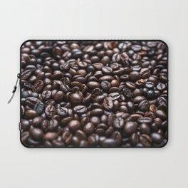 Roasted Coffee beans pattern Laptop Sleeve