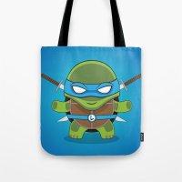 leonardo Tote Bags featuring Leonardo by LAckas